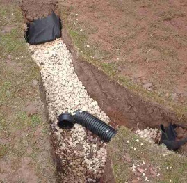 Milwaukee french drain cleaning wisconsin perimeter for What does a french drain look like