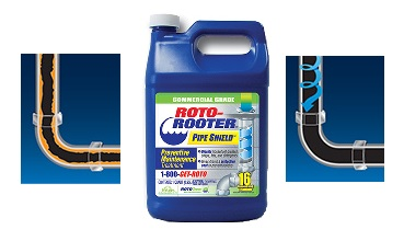 Roto Rooter Pipe Shield Cleans and Protects Drains