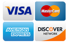 Roto-Rooter Milwaukee accepts VISA, Mastercard, Discover, American Express